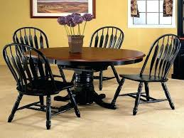 54 round dining table with leaf inch round dining table square or round expandable dining table