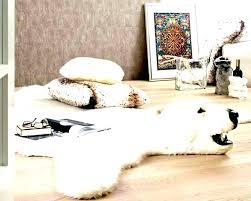 white bear rug faux bear skin rug with head faux bear rug faux polar bear rug
