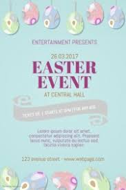 Customizable Design Templates For Easter Flyer Template | Postermywall