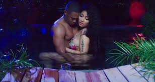 Nicki Minaj Dances For Boyfriend Kenneth Petty In Megatron Music Video