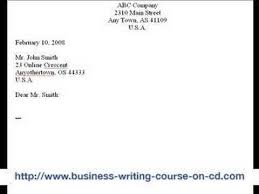 Typing Business Letter The Best Way To Write And Format A Business Letter Wikihow