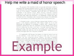 Short Maid Of Honor Speech Examples Best Friend – Dyppedukop.info