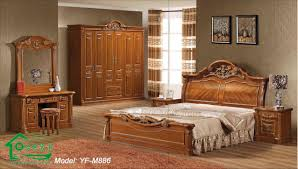 Bedroom Design Wood Elegant Solid Oak Bedroom Furniture Set Wood