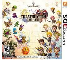 Juegos 3ds soccer club life: Final Fantasy Theatrhythm 3ds