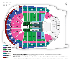 Wells Fargo Wwe Seating Chart Seating Charts Iowa Events Center