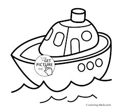 Small Picture Ship transportation coloring pages for kids printable free