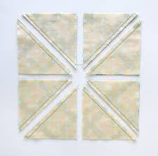 Half Square Triangle Cutting Chart How To Square Up Half Square Triangles With The Quilt In A