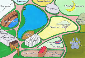 zoo map template. Beautiful Map Zoo Map And Template O