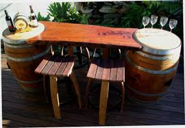 wine barrel bar plans. WINE BARREL REDGUM TIMBER BAR / TABLE BARSTOOLS SLAB BARWARE WOOD Wine Barrel Bar Plans