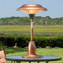 electric patio heater. Table Top \u0026 Umbrella Electric Patio Heater E