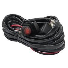 amazon com 4 lead led rock lights wiring harness, ampper led LED Light Harness at Amazon Led Wiring Harness