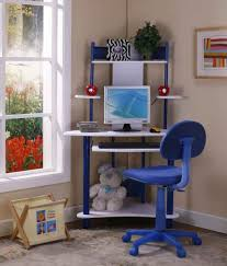 wonderful decorations cool kids desk. Blue Computer Corner Desk For Small Spaces With Chair Kids Bedroom Modern Desks Uk Wonderful Decorations Cool