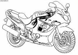 Disegni Moto Da Colorare Colorare