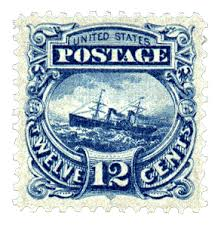 philately or stamp collection or mint stamp collection