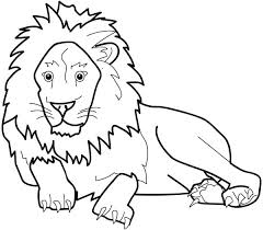 lion color page the great king of jungle lion coloring page free mountain lion coloring pages
