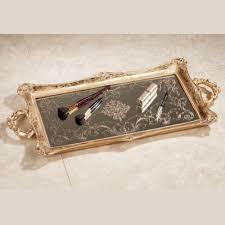 letitia gold vanity tray touch to zoom