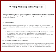 Selling A Business Proposal Template