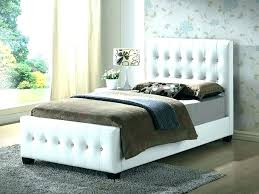 Superb Leather Headboard King Quilted Black Tufted Bed Barn Door ...