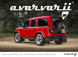 2018 land rover defender. beautiful rover 2019 land rover defender 5door autobiography rendering on 2018 land rover defender