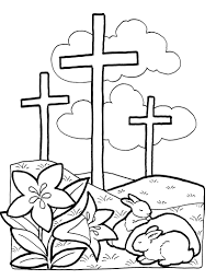 Small Picture Religious Easter Coloring Pages For Children Archives In Jesus