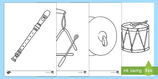 In addition to the developmental benefits, simply put: Free Musical Instrument Pictures Colouring Pages