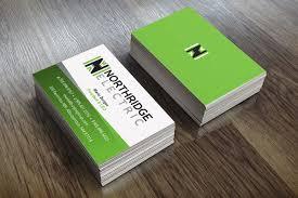 Northridge Electric Business Card Design Doohickey Creative