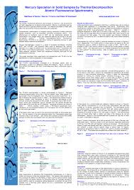 Mercury Chart Recorders Pdf Mercury Speciation In Solid Samples By Thermal
