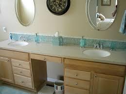 fancy bathroom backsplash tiles with glass tile bathroom backsplash ideas