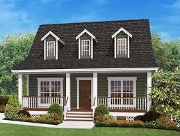142 1032 front elevation rendering of country home plan 142 1032