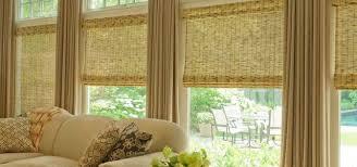 wood roman shades. Bamboo And Woven Wood Dallas Roman Shades E