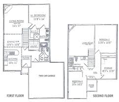 3 bedrooms floor plans 2 house plan small 2 y house plans pinteres