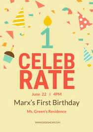Free Birthday Poster Flyer Designs Designcap Poster Flyer Maker