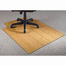 best rug pads for hardwood floors fresh realspace bamboo chair mat 36 w x 48 d 316