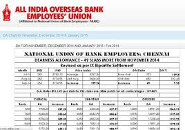 New Da Chart For Bank Employees Cbi Arrests Iob Union President For Job Scam India News