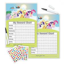 My Little Pony Reward Chart Twin Set Including Free