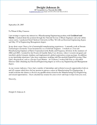 Charming Cover Letter For Engineering Internship To Design