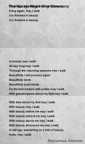 Navajo Quotes Beauty Best of Navajo Poems