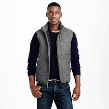 J.crew Broadmoor Quilted Vest in Gray for Men   Lyst & Gallery Adamdwight.com