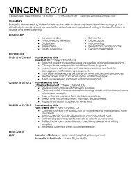 92a Resume Resume Examples Housekeeping Resume Examples Good Resume