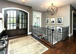 front door chandelier front door chandelier metal and wood chandelier entry transitional with gold frames brown