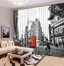 White And Black Curtains For Living Room Compare Prices On White Black Curtains Online Shopping Buy Low