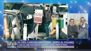 Da oggi Campania zona rossa - Sanità al collasso - Live - Non è la d'Urso  Video