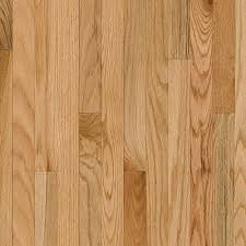 Wood Flooring Bruce Plano Oak Country Natural 3 4 In Thick X 2 1 4 In Wide X