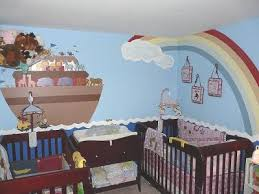 baby noahs ark nursery theme decorating