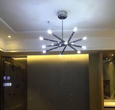 Us 20025 11 Offfumat Moderne Deckenleuchte Fixtures18w Warme Led Wohnzimmer Lichter Schlafzimmer Lampe Verstellbare Edelstahl Stern Deckenleuchten
