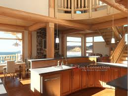 3d Log Home Design Software Modern Beach Front Log Home Interior 1 Gallery Area By