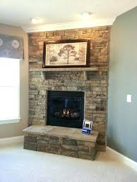 stacked slate fireplace over indoor fireplace design ideas stacked stone tile fireplace