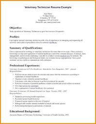 Veterinary Assistant Resume Examples New Medical Assistant Resume Examples Beautiful Resume For Vet Tech
