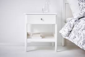 small white bedside table. Exellent Table IKEA Bedside Tables On Small White Table R