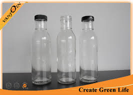 Decorative Pepper Bottles Clear 100oz Glass Sauce Bottles With Lid Sealable Glass Pepper 96